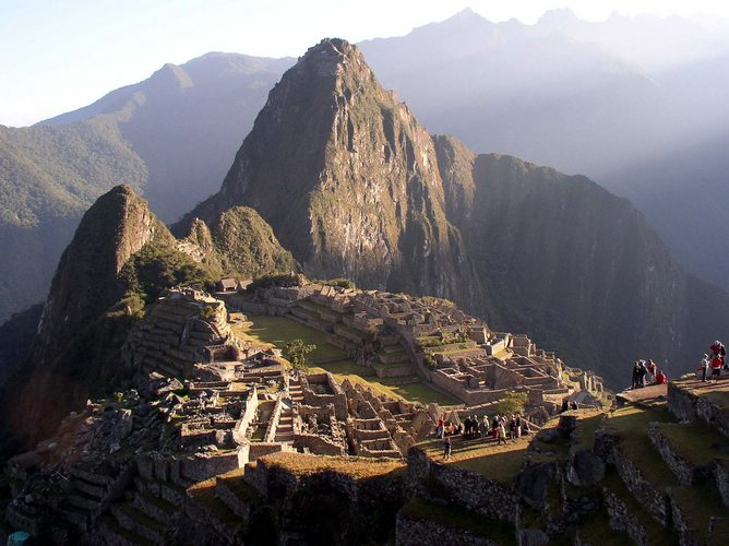 beautiful Machu Picchu, Peru