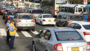 Traffic in Lima