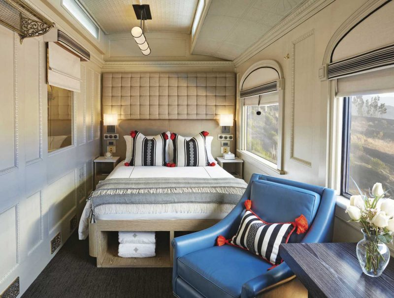 A suite on the Andean Explorer train.