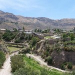 The town of Cotahuasi in Cotahuasi Canyon, Peru