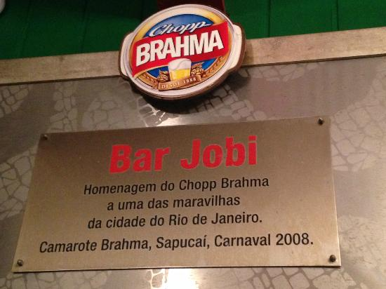 Best chopp in Rio, Bar Jobi, Rio de Janeiro