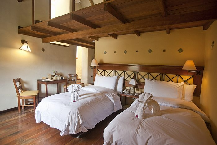 family rooms at Colca Lodge
