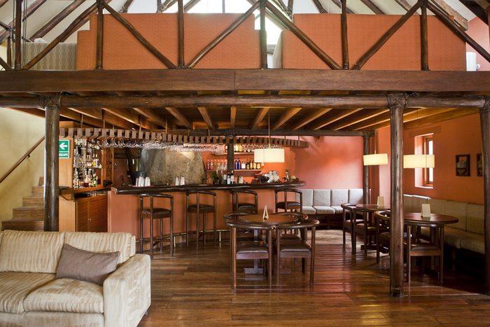 lounge at Colca Lodge