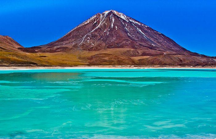 Laguna Verde Uyuni Bolivia