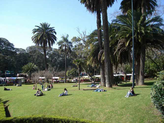 Buenos Aires Recoleta Plaza Francia