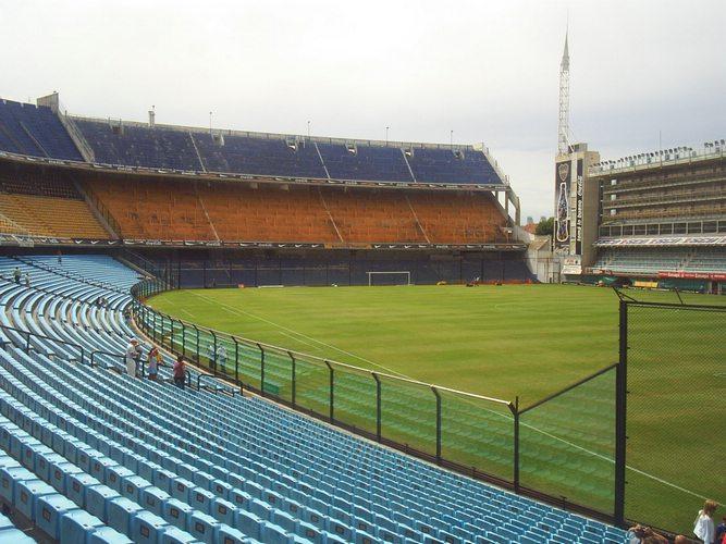 La Bombonera football stadium La Boca Buenos Aires Argetina