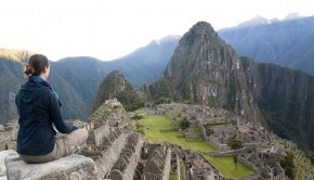 View of Machu Picchu, Peru