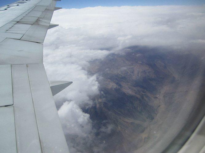 Going Vagabond in a plane