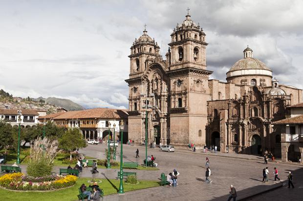 Cusco, Plaza de Armas