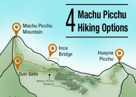 My 4 Hiking Options at Machu Picchu