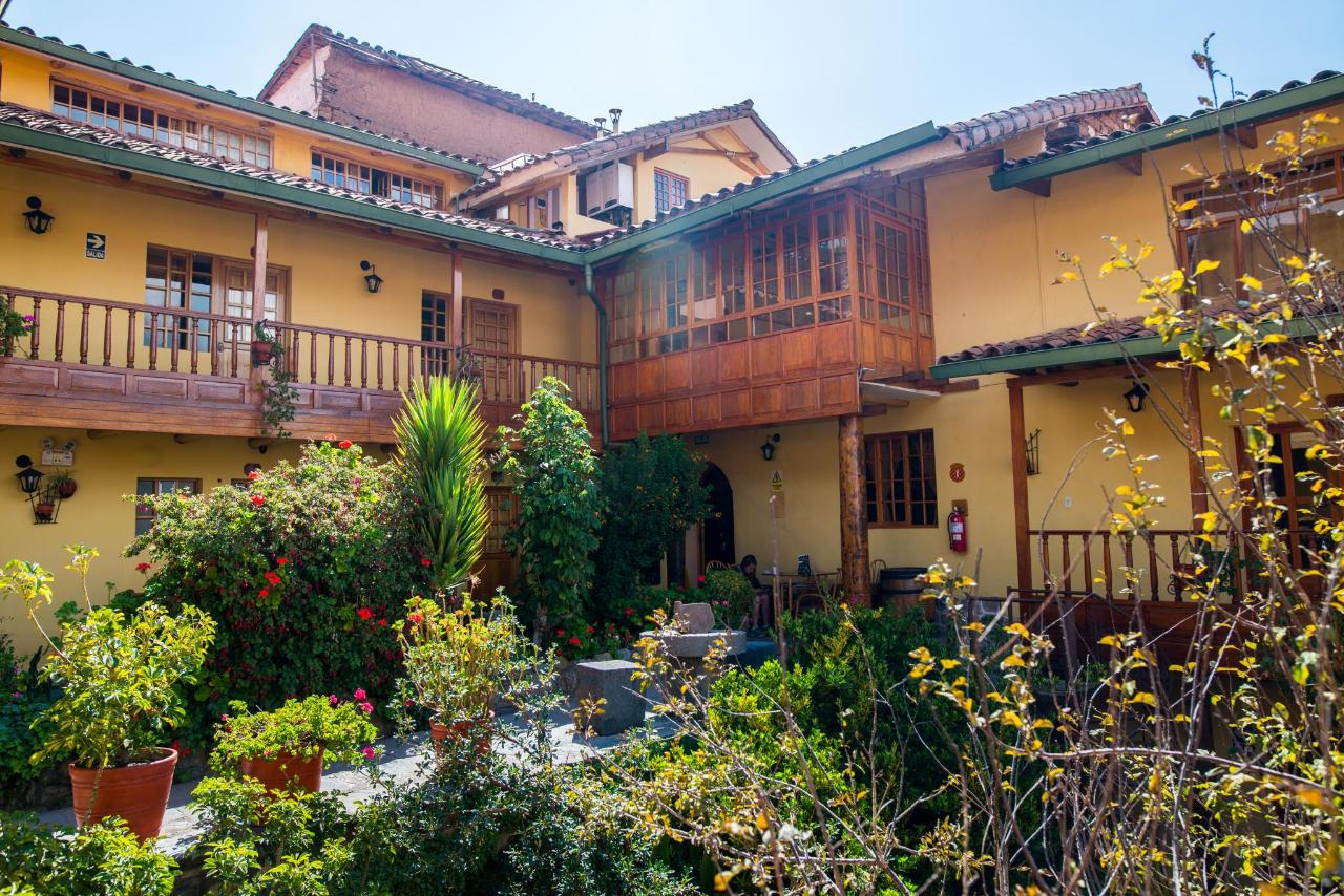 Amaru Inca, a top budget hotel in Cusco.
