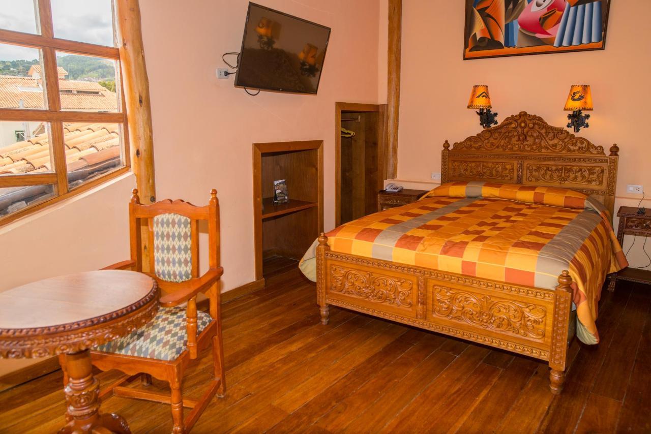 A room at Amaru Inca hotel.