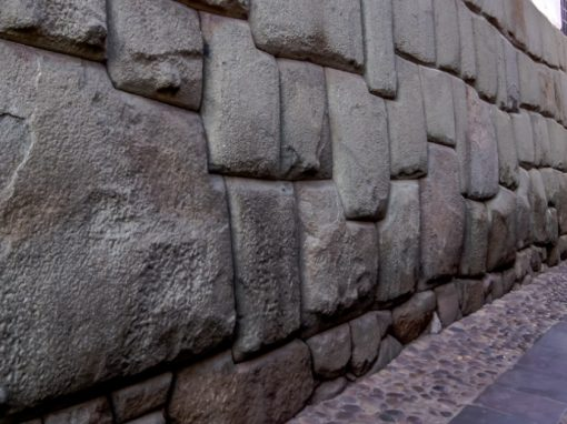 The Twelve Angle Stone on Hatunrumiyoc Street in Cusco