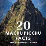 Huanya Picchu Mountain with Mach Picchu ruins beneath
