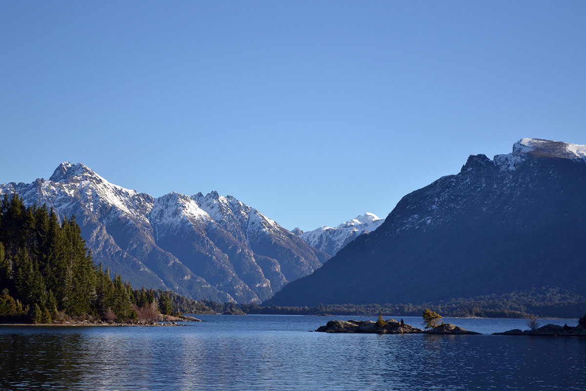 The beautiful Nahuel Huapi Lake in Argentina, one of the best places to visit in Argentina.