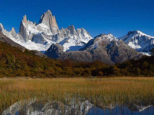 Snowcapped mountains of Patagonia, one of the top places to visit in Argentina