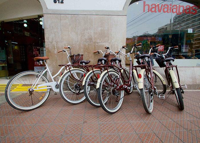 Lima Bici office in Miraflores