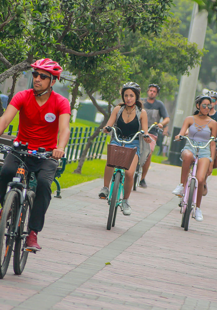 Bike tour in Lima