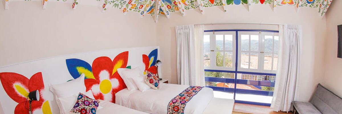 El Retablo hotel in Cusco, Peru