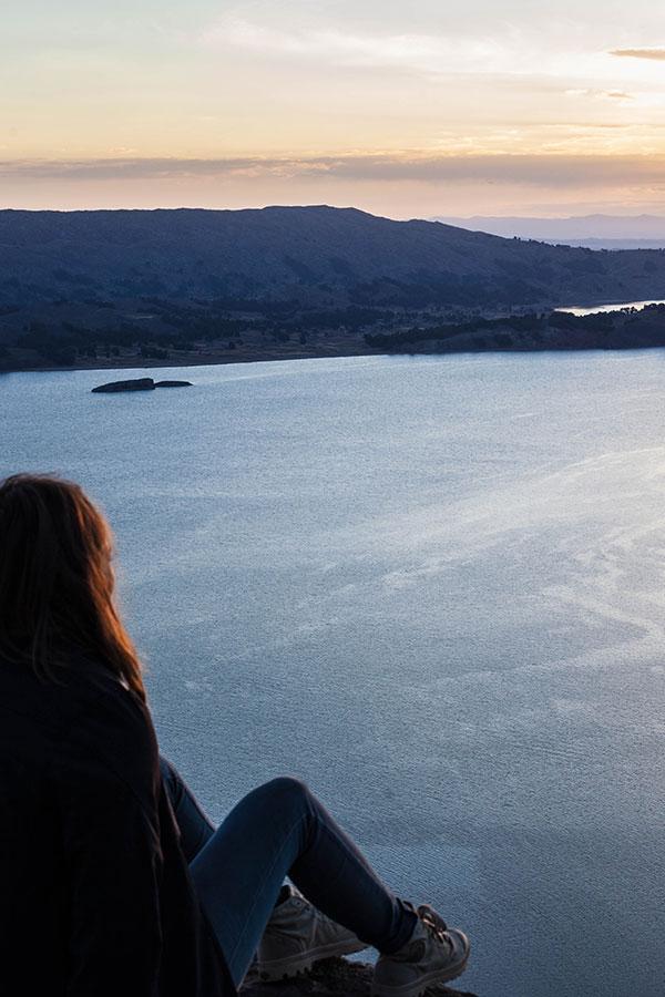 The private island of Isla Suasi in Lake Titicaca