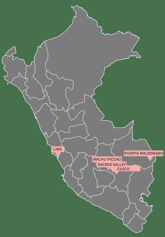 Peru honeymoon nature itinerary