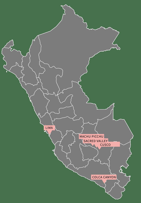 Peru honeymoon relax itinerary