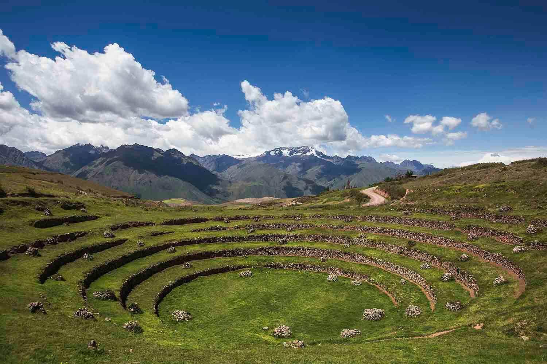Moray Inca ruins in Cusco's Sacred Valley