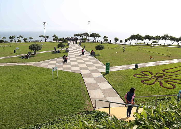 Nazca Park in Miraflores