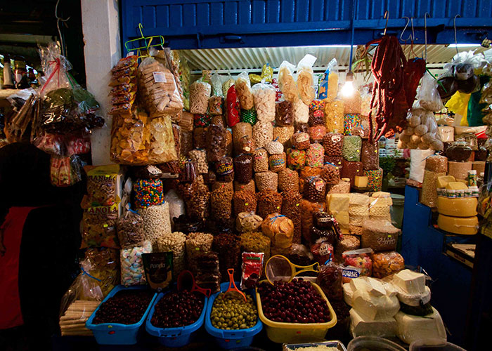 Surquillo Market in the Surquillo District of Lima