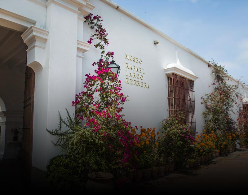 The Larco Museum, one of the best museums in Lima and home to countless pre-Columbian artifacts.