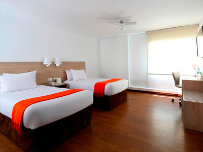 Casa Andina Standard Arequipa, a comfortable hotel located in Arequipa's historic center.