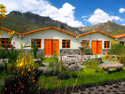 Casa Andina Standard Colca, a hotel offering private bungalows in Arequipa's Colca Canyon.