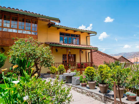 Amaru, a comfortable and affordable hotel located in the bohemian San Blas district of Cusco.