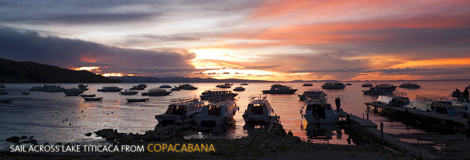 Sail Across Lake Titicaca from Copacabana