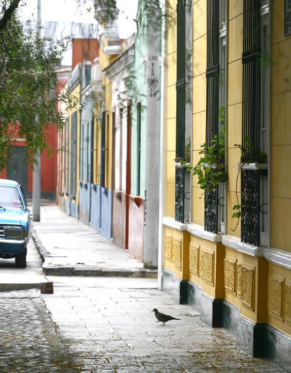 Barranco street, Lima