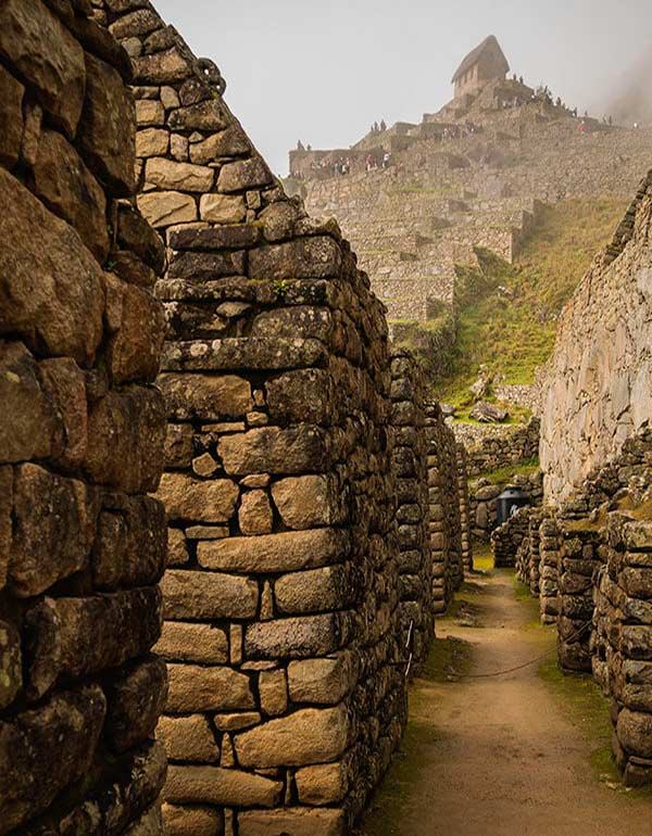 Old ruins in Machu Picchu