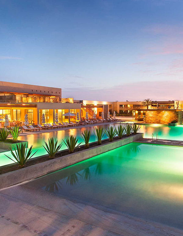 Luxury Hotel on the bayfront of Paracas