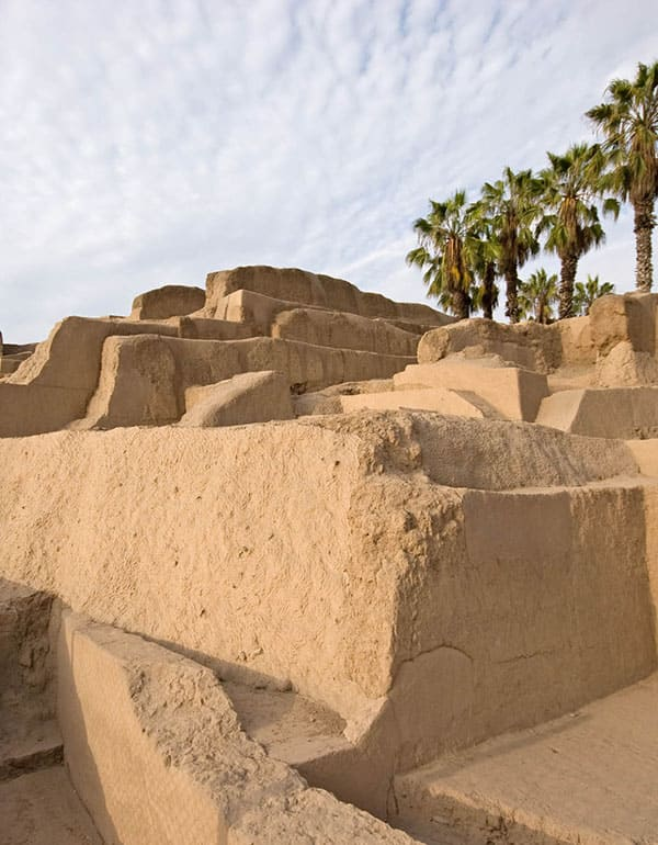 View of Huaca Pucllana, Lima