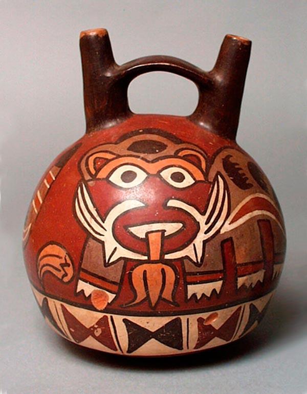 Picture of a ceramic of the Nazca civilization
