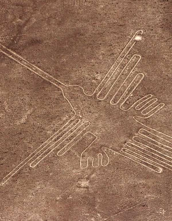 View of the Nazca Lines
