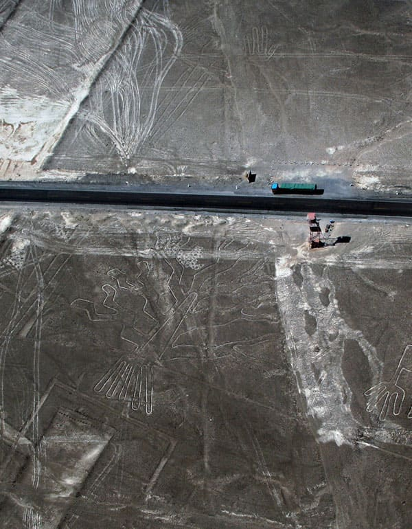 View of the Observation Tower in Nazca