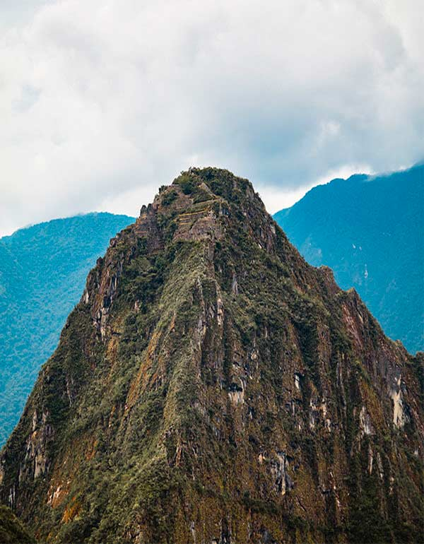 View of Machu Picchu Mountain