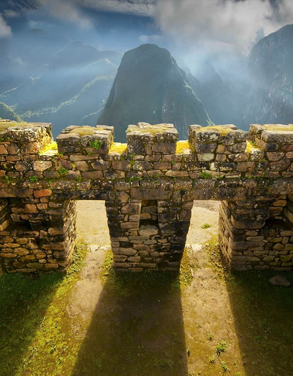 Picture of stone perfection at Machu Picchu