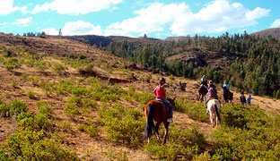 More information on horseback riding tours in the Sacred Valley