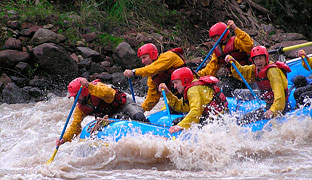 More information on rafting tours