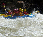 Rafting tour the Sacred Valley