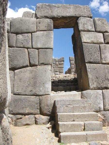 Puma Puncu gate at Sacsayhuaman, Peru