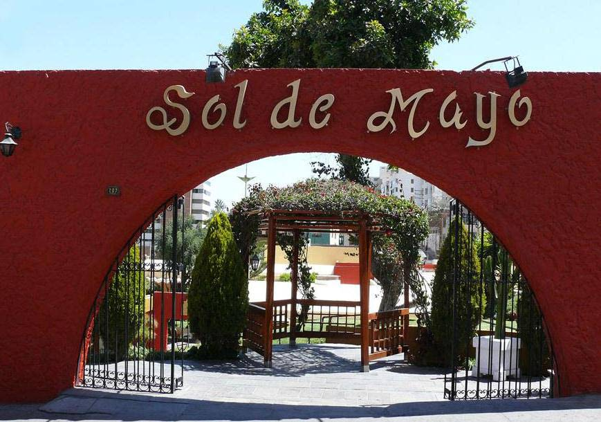 Sol de Mayo restaurant, Arequipa, Peru