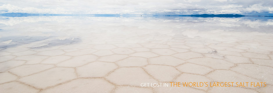 Get Lost in the World's Largest Salt Flats